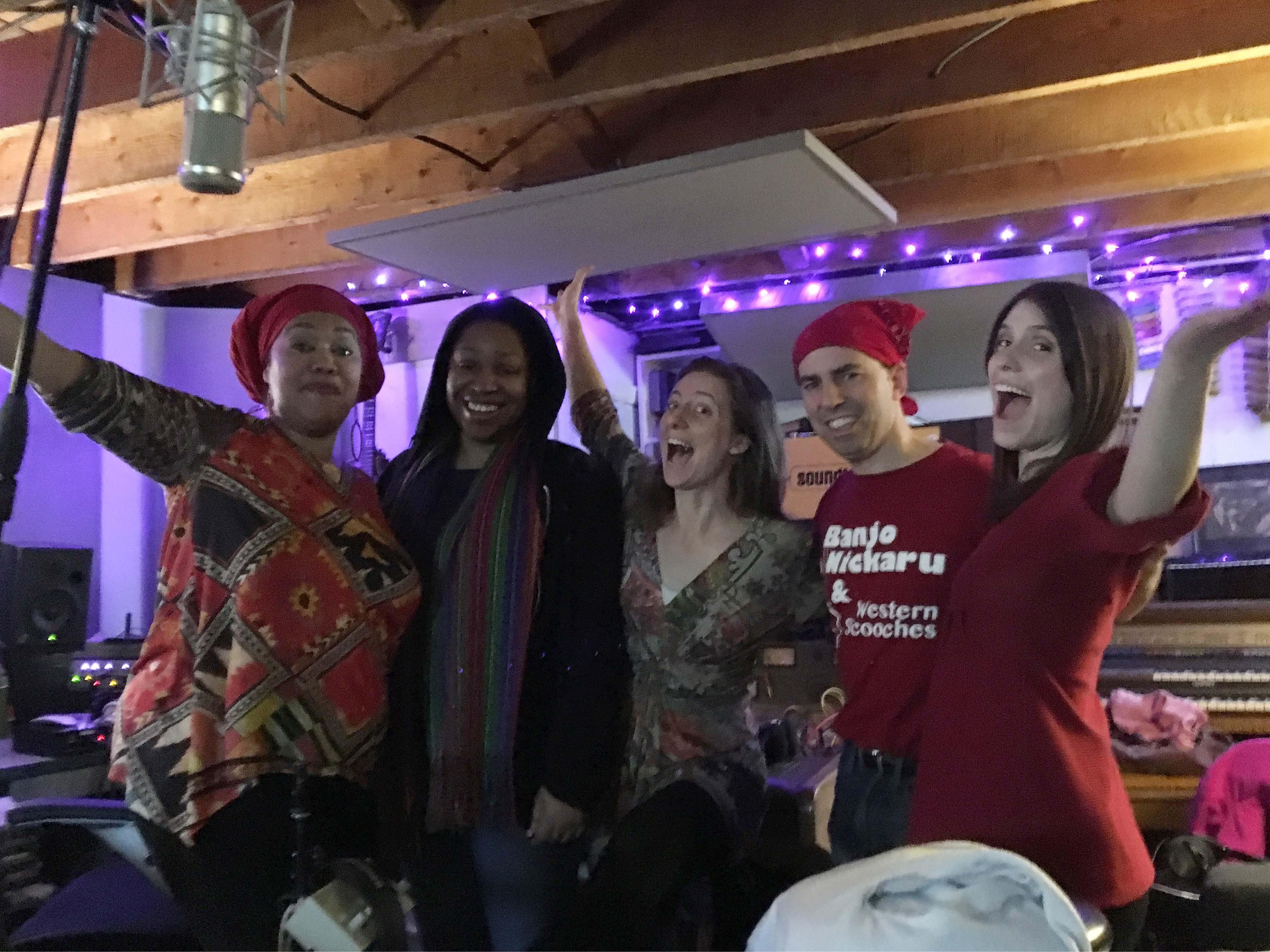 IMG_1279 gospel singers Lisa and us